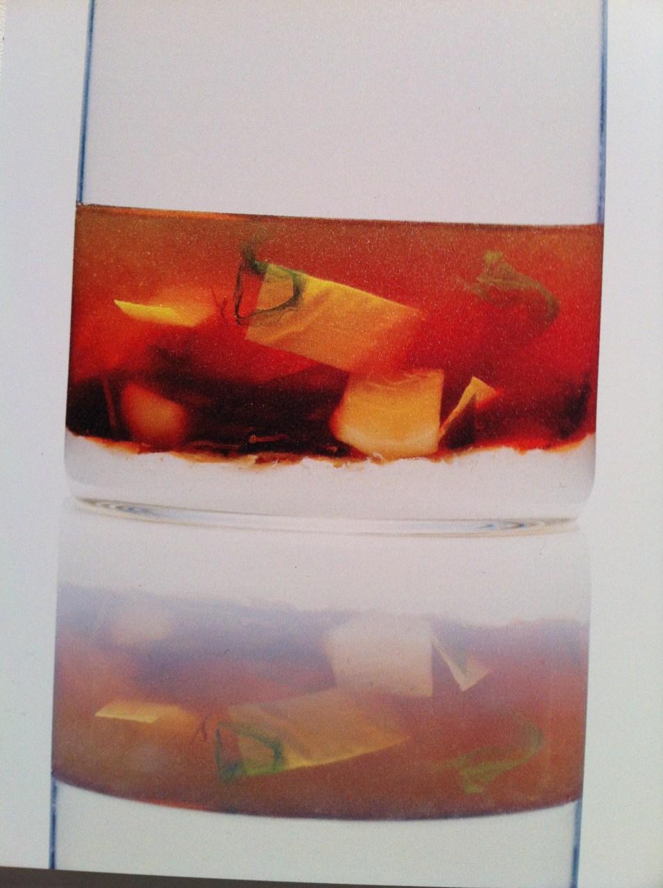 Tofu maison immergé en eau de source, eau de mer.. fenouil et foin.. J'attends avec impatience le livre de Coi à paraitre chez Phaedon