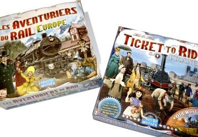 [J2S] Les Aventuriers du Rail Europe + France // CONCOURS