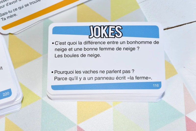Jokes de papa Gigamic