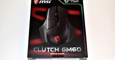 [HIGH-TECH] Souris MSI Clutch GM60