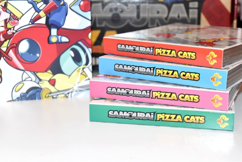Samourai Pizza Cats Intégrale