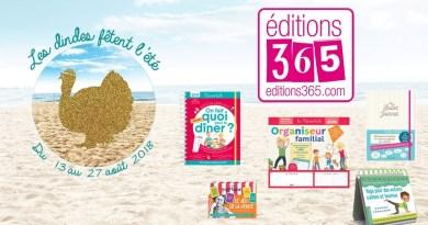 [CONCOURS] Les Dindes fêtent l'été avec les Editions 365