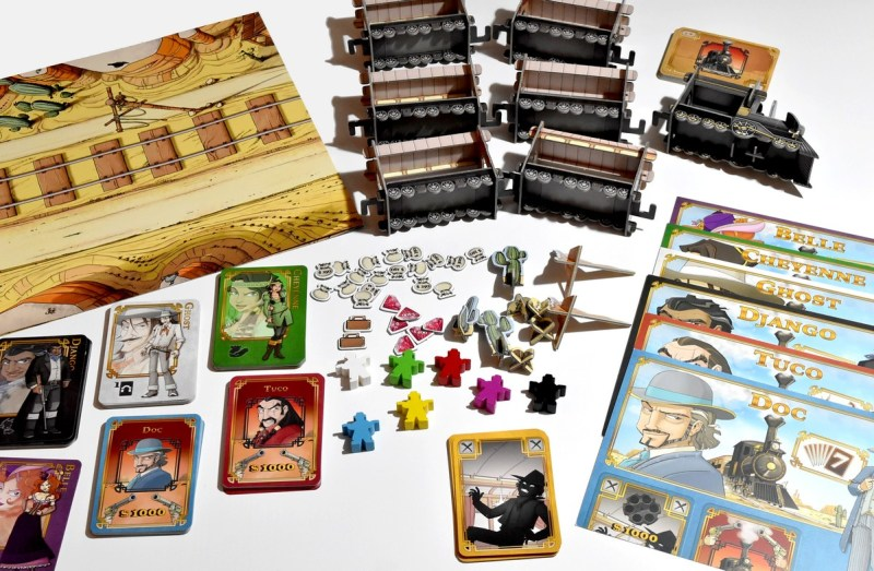 Colt Express Ludonaute Asmodee