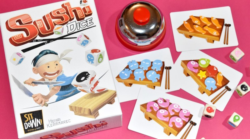 [J2S] Sushi Dice – Sit Down Games