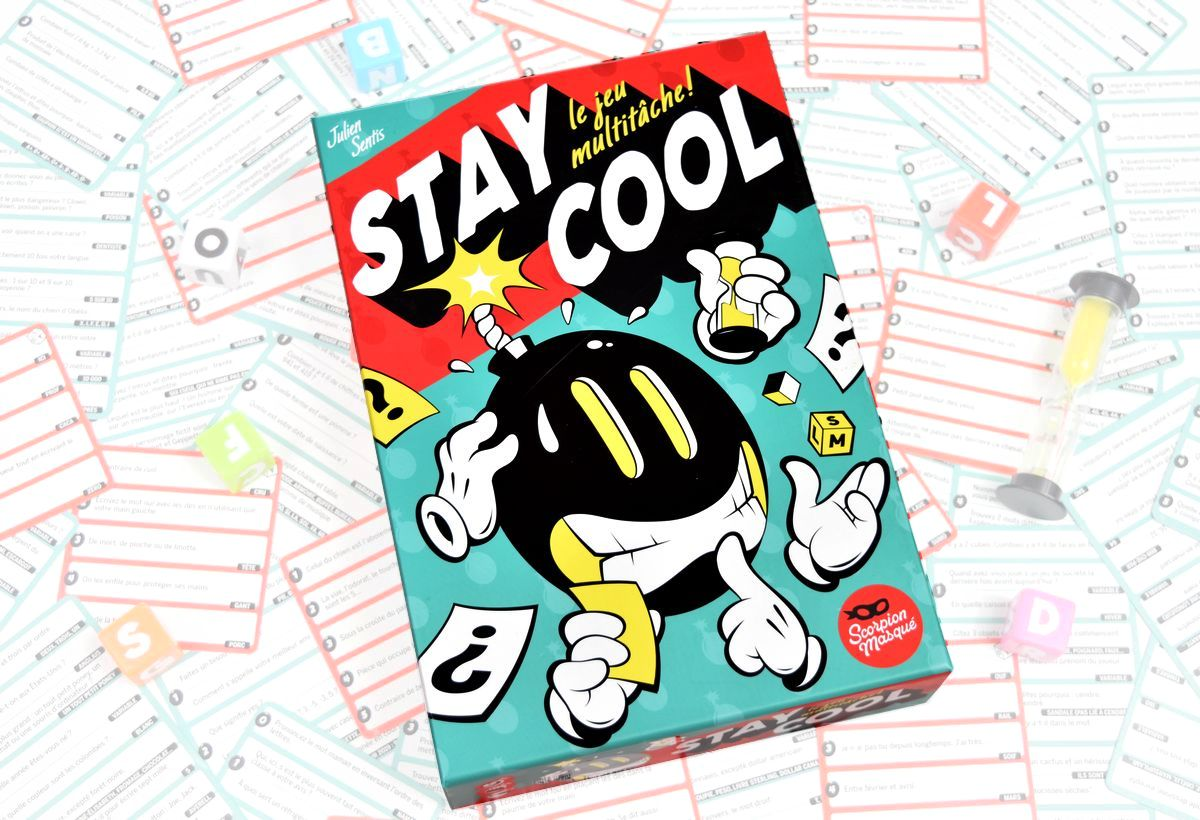 [J2S] Stay Cool - Scorpion Masqué - Carnet des geekeries