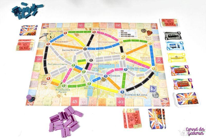 Les aventuriers du Rail Londres - Days of Wonder Asmodee
