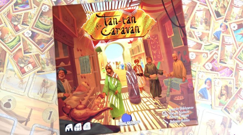 [J2S] Tan Tan Caravan – Blue Orange