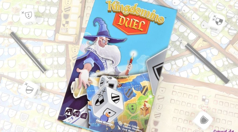 Kingdomino Duel – Blue Orange – Notre avis sur la version Roll & Write