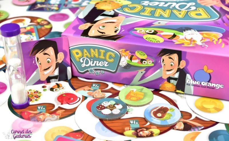 Panic Diner - Blue Orange