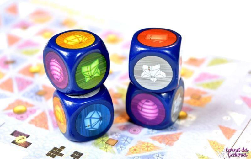 Lanterns Dice - Origames Renegade