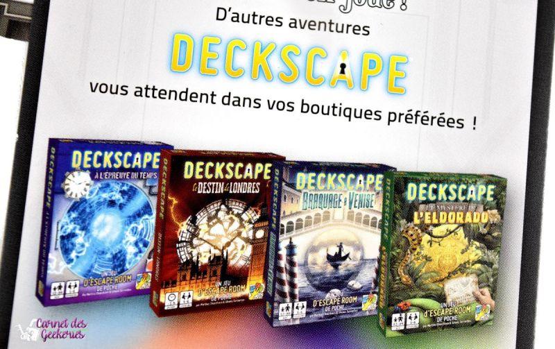 Deckscape Derrière le rideau - Super Meeple