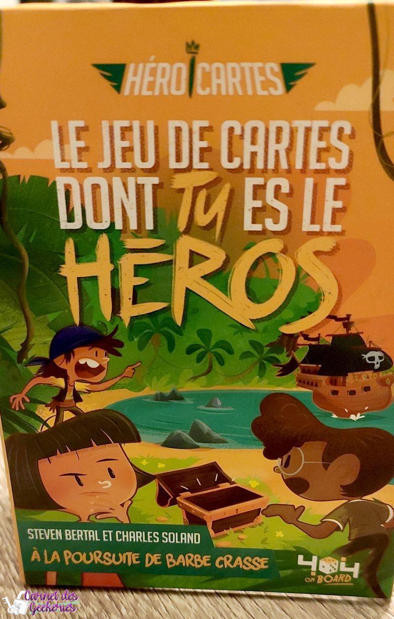 Vivez l'Aventure - Heroi'Cartes - 404 Editions