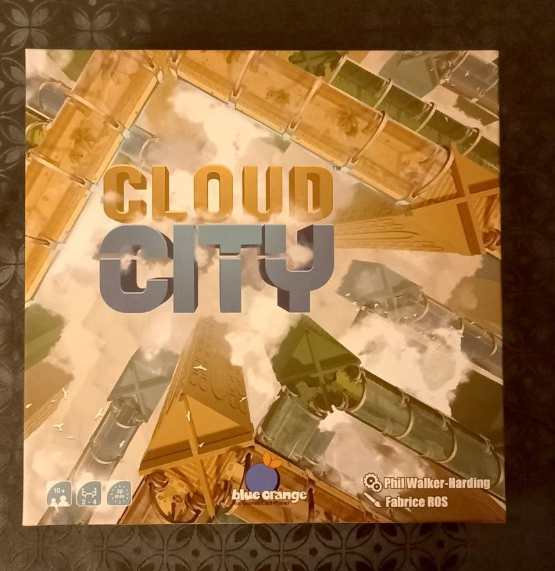 Cloud City - Blue Orange