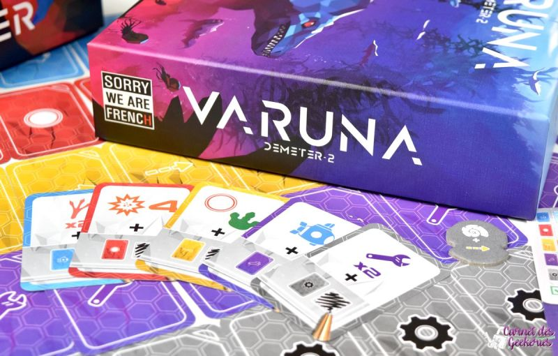 Varuna Sorry we are French