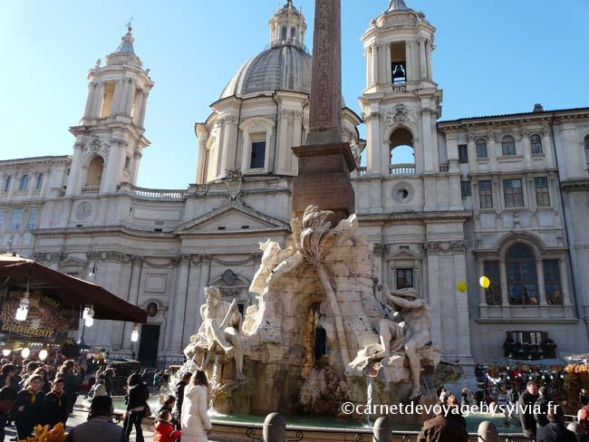 visiter piazza Navona