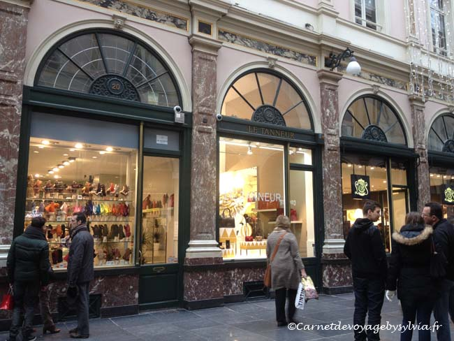 galeries royales Saint-Hubert et les galeries de la reine