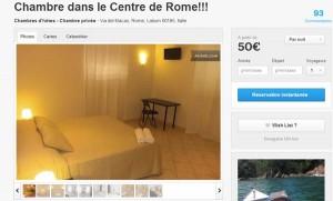 Appartement de Léonardo à Rome