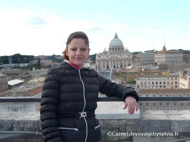 point de vue depuis le castelo Sant' Angelo