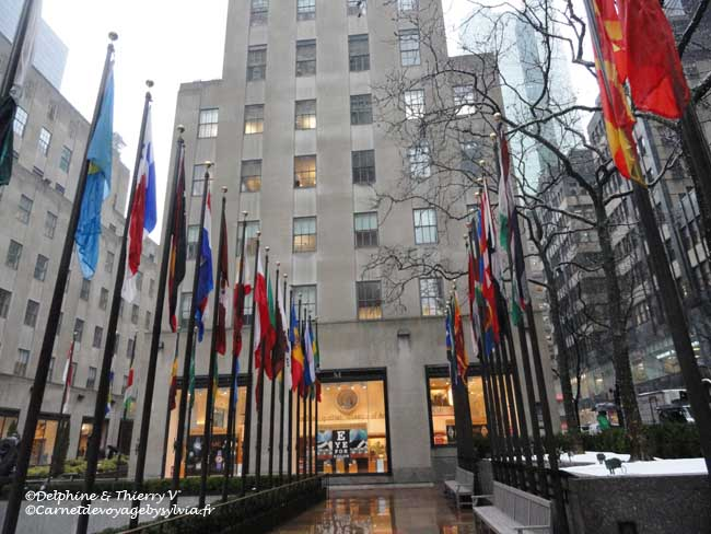 Visiter le Rockefeller Center en hiver