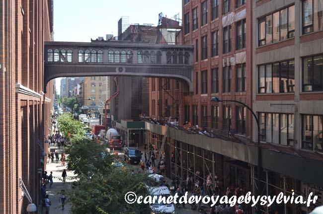 se promener sur la High Line : vue fantastique
