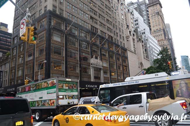 Bus - trafic New York City