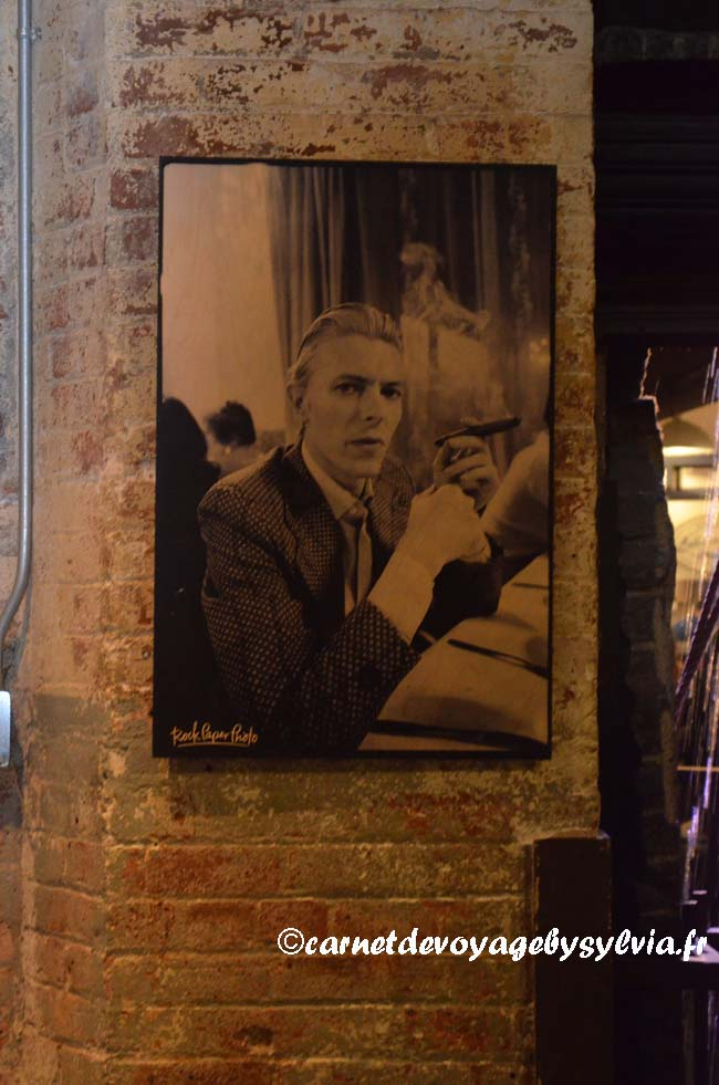 David Bowie - Chelsea Market -expo