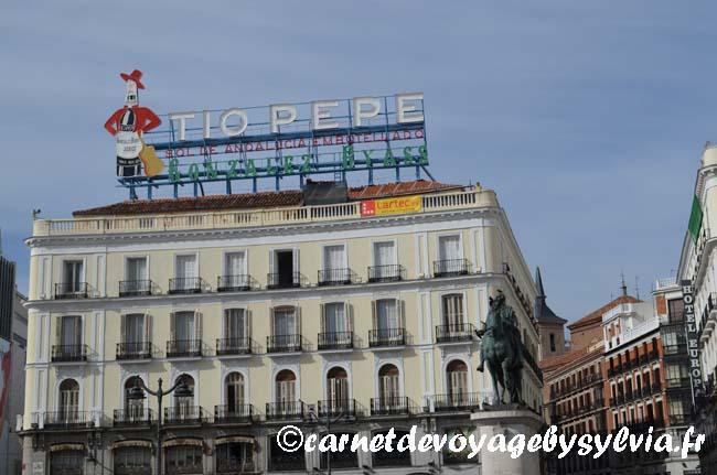 PUERTA DEL SOL Madrid -Tio pepe