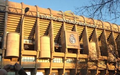 Bernabeu Stadium- match réal Madrid
