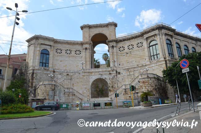 Visiter le Bastione di Saint Remy à Cagliari