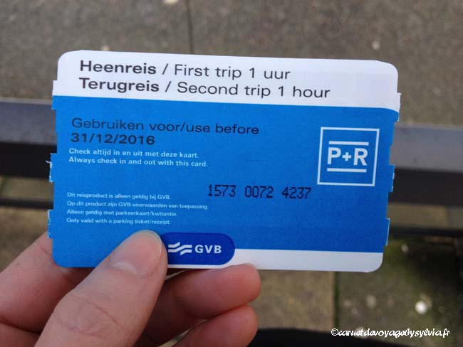 Ticket P+R