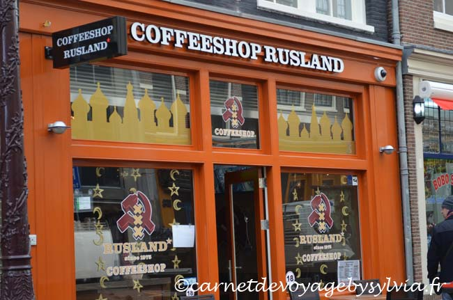 Amsterdam : les coffee shop