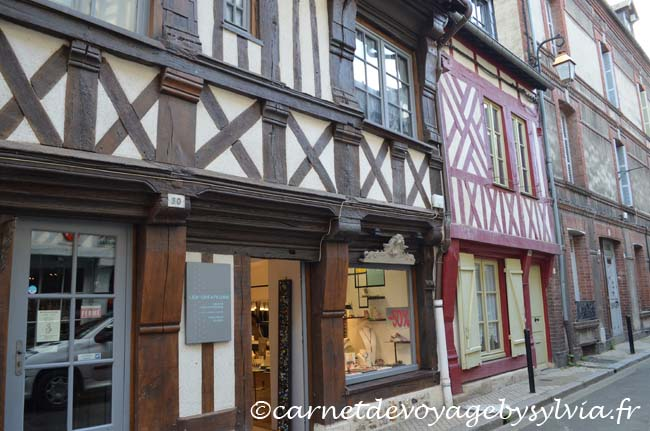 Honfleur - vieilles maisons