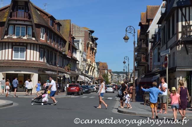 Les rues de Deauville