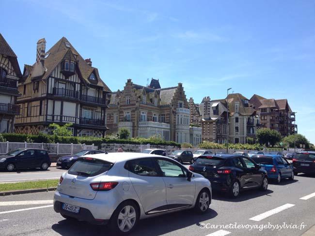 Les villas - manoirs- en bord de mer Deauville