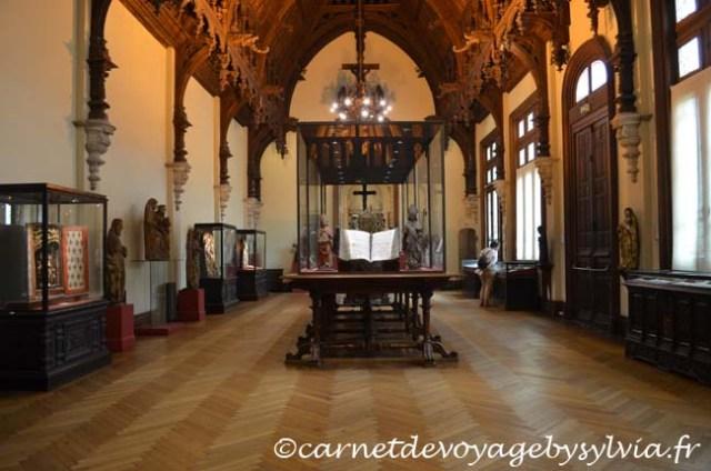 vue intérieure du palais