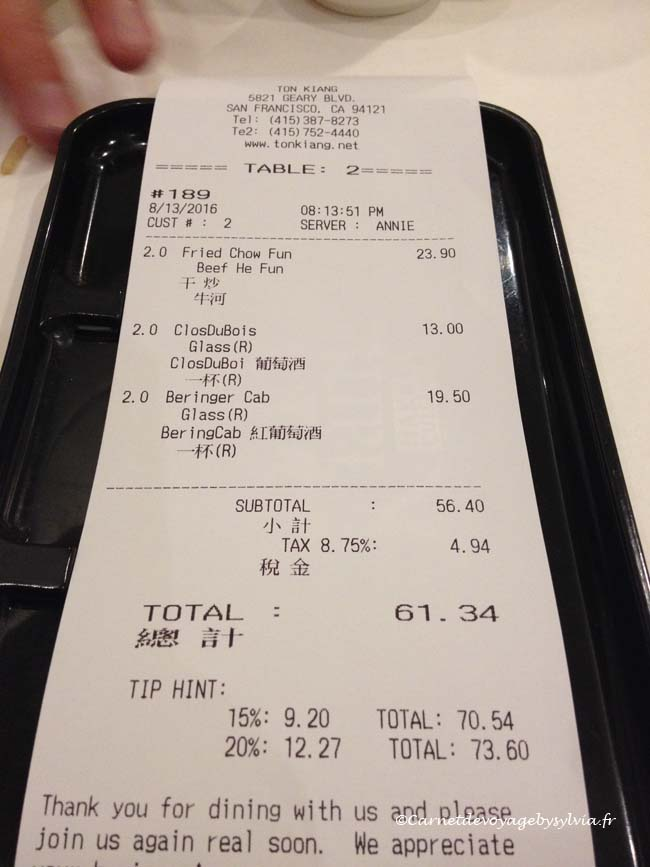diner au restaurant chinois