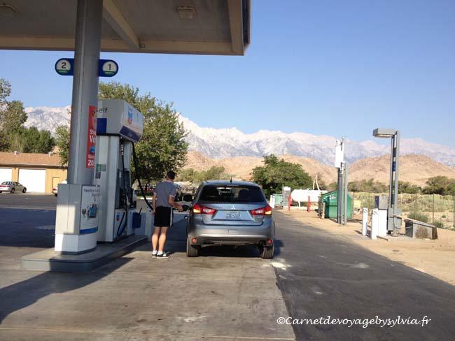 Le carburant Location de voiture aux USA