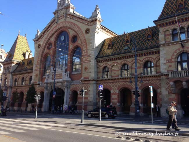marché couvert Budapest