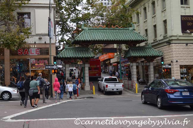 Quartier chinois San Francisco