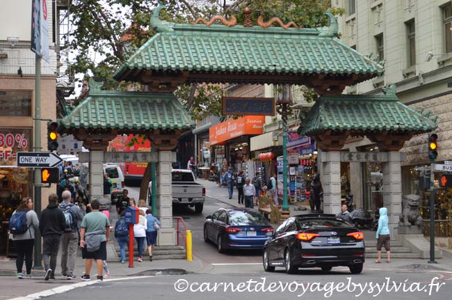 Quartier chinois San Francisco Chinatown Gate
