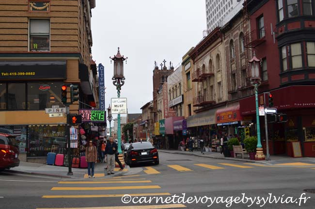 Quartier chinois San Francisco