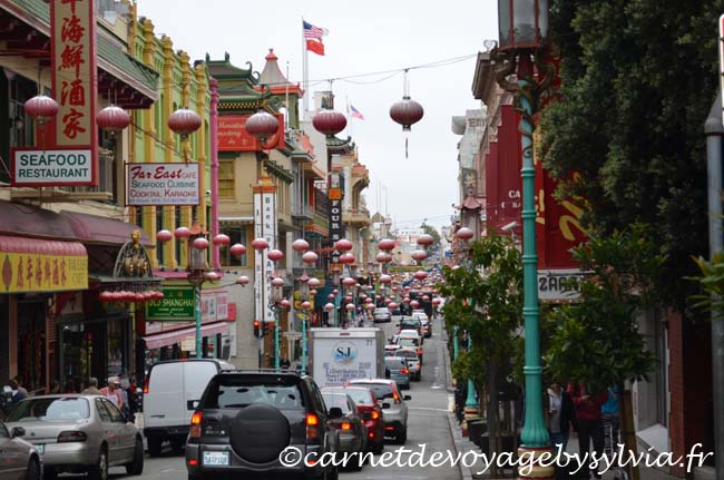 Quartier chinois San Francisco Grant Avenue