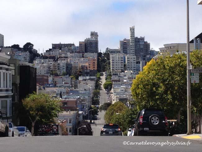 Aux alentours de North Beach le quartier italien de San Francisco