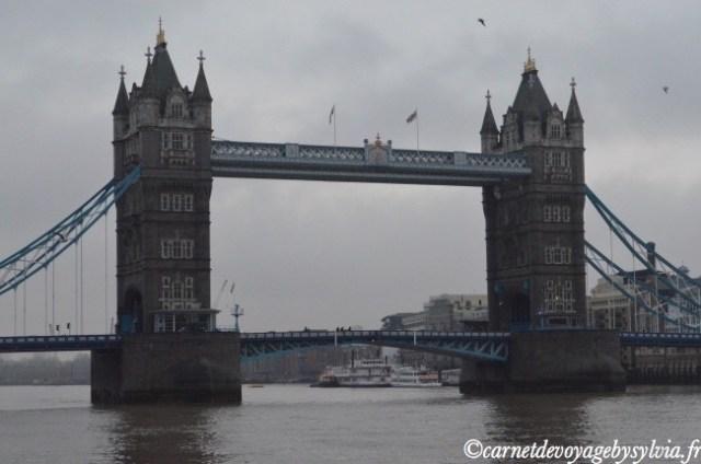 week-end Londres- Tower Bridge