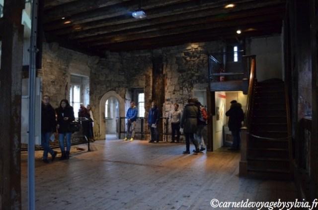Le palais Médiéval