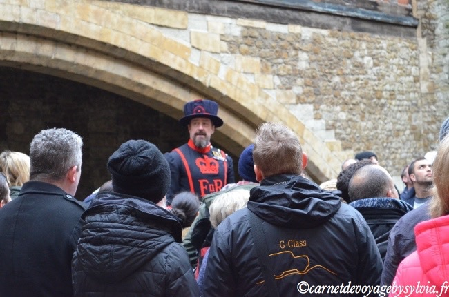Yeomen Warders tour de Londres