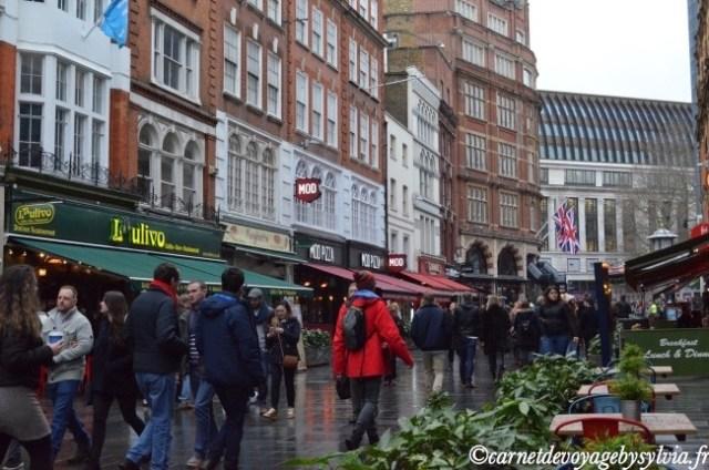 le quartier de Covent Garden
