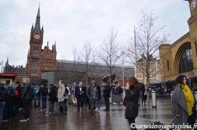 La gare St Pancras International