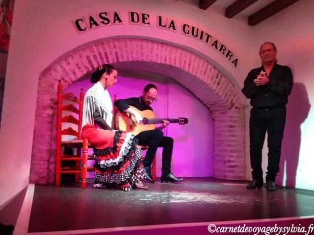 Casa de la guitarra spectacle de flamenco