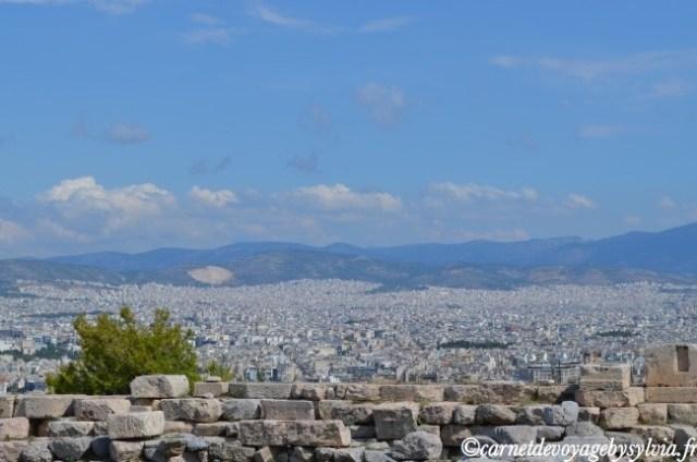 Panorama depuis l'Acropole